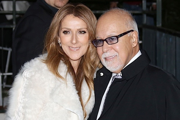 Celine Dion & Rene Angelil Arriving At